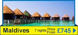 Maldives Flights and Hotels