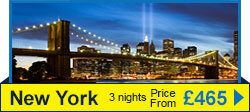 New York Flights and Hotels