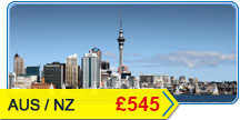 Australia New Zealand Flights Offers